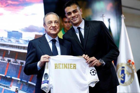 Presiden Real Madrid Florentino Perez pulih dari COVID-19