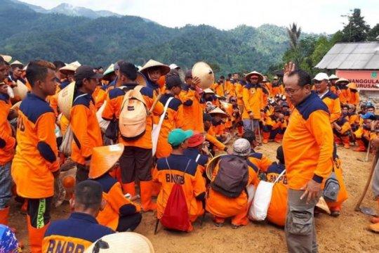 BNPB tanam vetiver di Taman Nasional Gunung Halimun