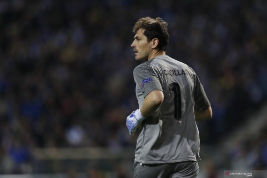 Presiden Porto benarkan kabar Iker Casillas segera pensiun
