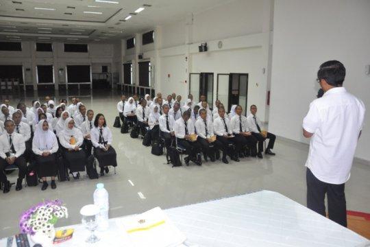 BNNP sosialisasikan bahaya narkoba pada Pelatihan Dasar CPNS Kemenkeu
