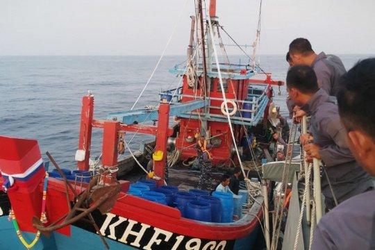 Danlantamal I: Awak kapal nelayan asing pencuri ikan diproses hukum
