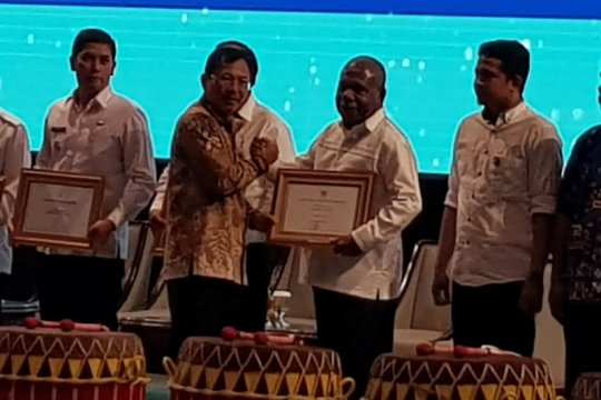 Filariasis-malaria turun, Menkes beri penghargaan Kabupaten Jayapura