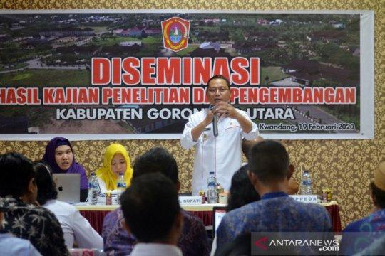 Penetapan Geopark Gorontalo diharapkan bisa ditunjang Gorontalo Utara