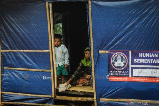 Korban bencana di Lebak masih andalkan bantuan