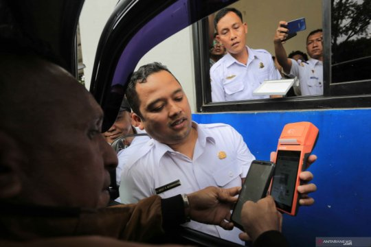 "Tangerang launcing ""Smart Card"" dan pembayaran PKB Non Tunai"