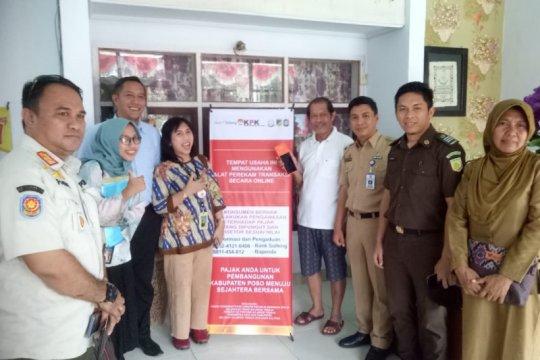 Bank Sulteng Poso pasang 12 alat perekam pajak daerah