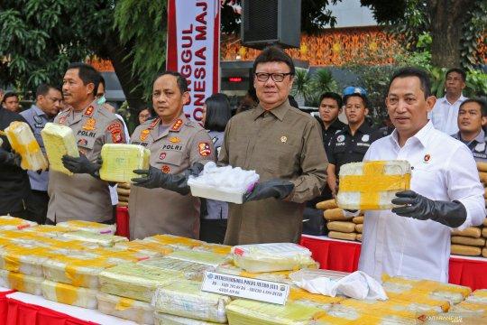 Menteri Tjahjo: Narkoba barang tidak berharga