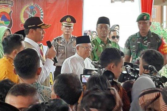 Wapres tinjau rumah tahan gempa untuk korban bencana di Mataram