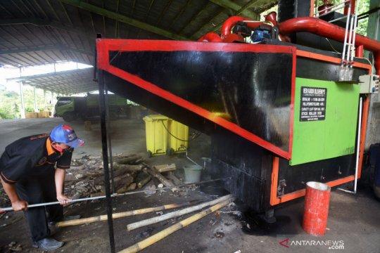 Mesin karbon pengolah sampah