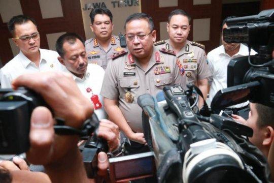 Polda Jatim identifikasi pelaku kerusuhan suporter di Blitar