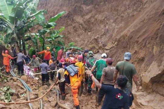 Longsor di Wonosobo telan satu korban tewas