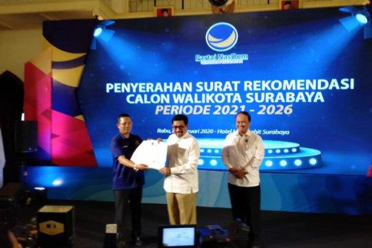 NasDem resmi serahkan rekomendasi bacawali Surabaya ke Machfud Arifin