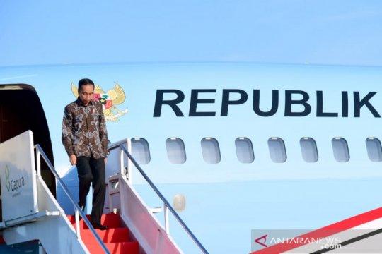 Presiden Jokowi ke Riau dan Aceh resmikan pabrik dan tinjau jalan tol