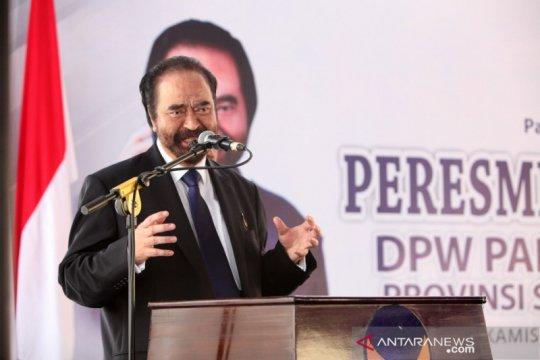 Surya Paloh usul pemerintah bentuk diskusi terbuka soal omnibus law