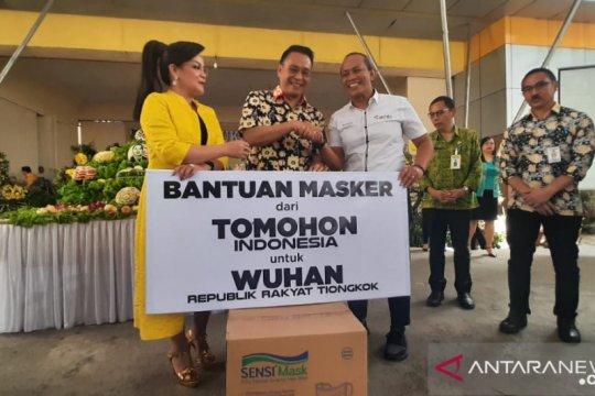 Pemkot Tomohon donasikan 10 ribu masker untuk Wuhan-Tiongkok