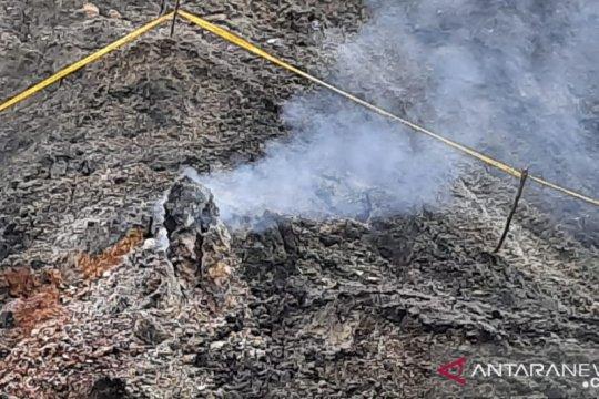 PVMBG : Gas-asap yang muncul tidak berasal dari aktivitas gunung api