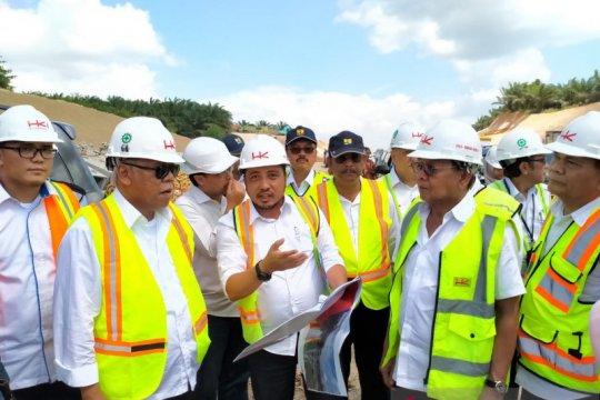 Menteri PUPR puji kualitas tol Pekanbaru-Dumaidi Riau