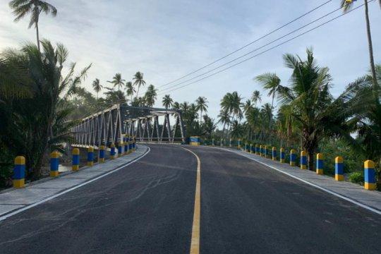 Konektivitas Jalan Lingkar Morotai kian ditingkatkan, demi pariwisata