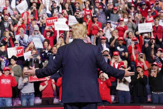 Kendati dikritik, Trump rayakan Hari Kemerdekaan AS di Gunung Rushmore