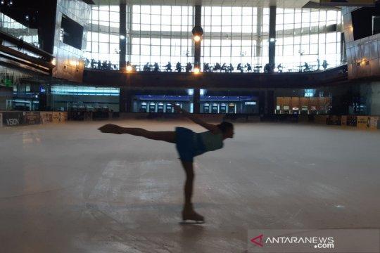 IISO ajang atlet ice skating Indonesia tambah jam terbang