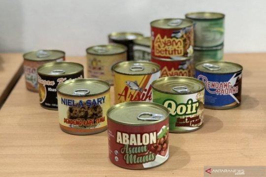 LIPI kantongi enam paten dari riset pengalengan masakan tradisional