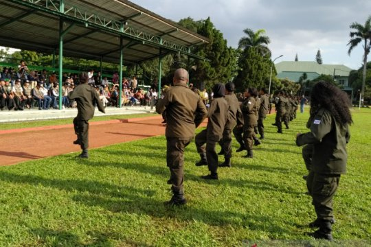 333 putra-putri Papua pegawai BUMN tampilkan atraksi bela negara