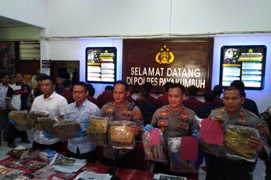 Operasi Antik Singgalang Polres Payakumbuh ungkap 11 kasus narkotika