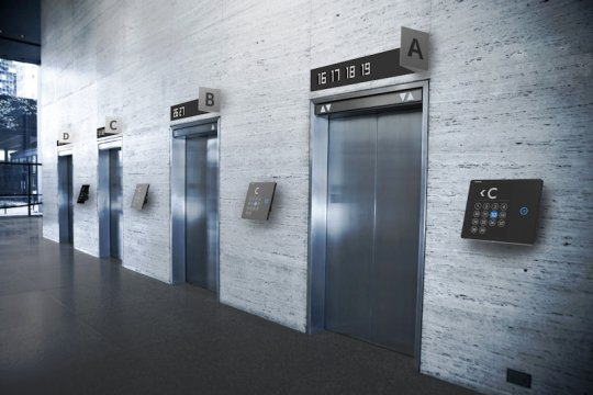 Perangkat pemandu pengguna lift Toshiba Floornavi menangi iF Award