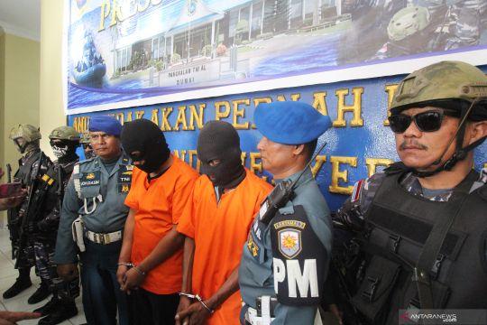 Tim Lanal Dumai gagalkan penyelundupan narkoba dari China