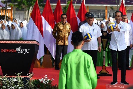 Presiden Joko Widodo resmikan MTsN 3 Pekanbaru