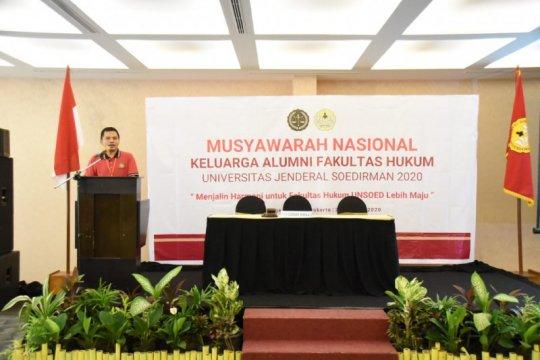 Sekjen MPR: Alumni FH Unsoed harus berkontribusi di masyarakat