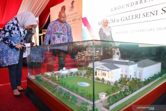 Pembangunan museum SBY-ANI di Pacitan