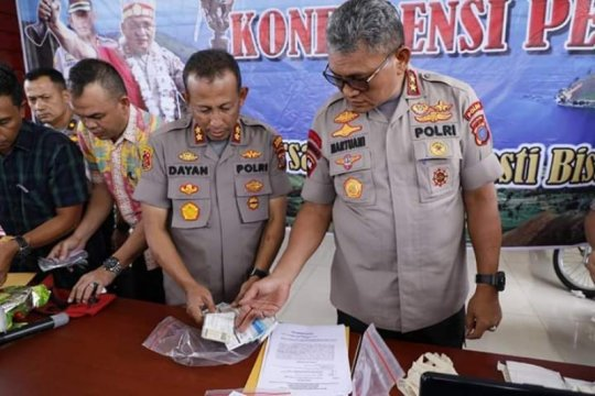 Polres Belawan ungkap kasus pemalsuan STNK