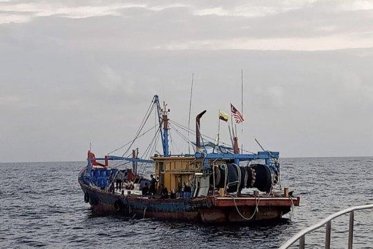 KKP tangkap kapal asing ilegal di Selat Malaka