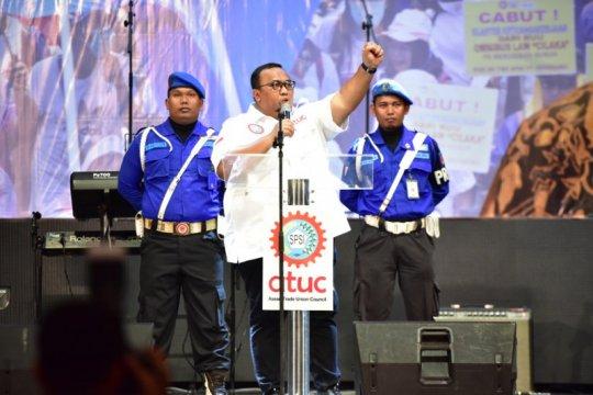 KSPSI tetap kritis dan perjuangkan hak buruh meski dekat pemerintah