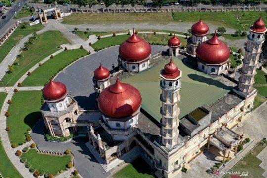 Indahnya Masjid Agung Baitul Makmur Meulaboh
