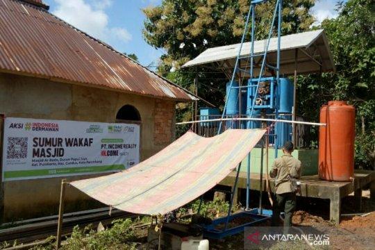 Global wakaf ACT Sumsel kembali bangun sumur di Palembang