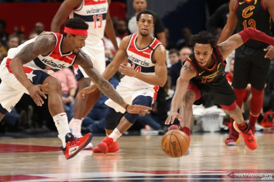 NBA: Cleveland Cavaliers kalahkan Washington Wizards 113 - 108.