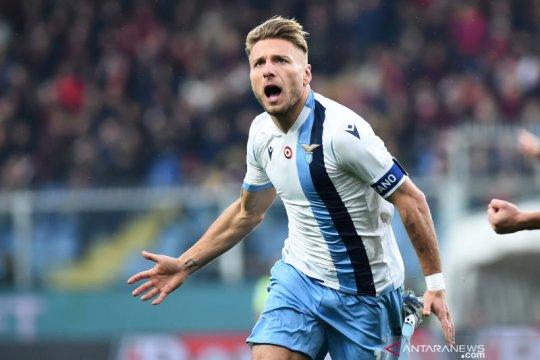 "Immobile jadi ""capocannoniere"" sembari samai rekor gol Higuain"