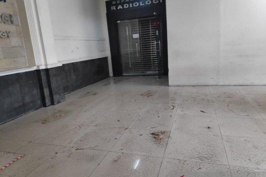 Dua gedung di RSCM juga tergenang dampak hujan lebat semalam