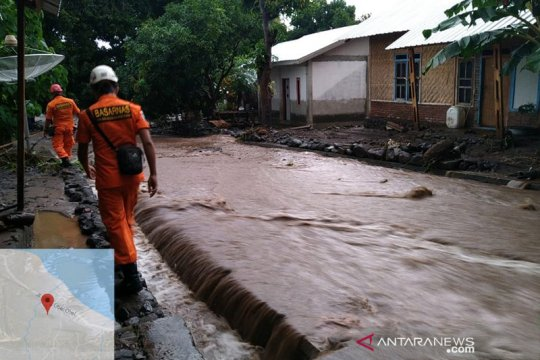 Banjir bandang terjang Sambelia Lombok Timur