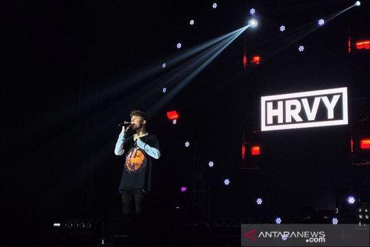 HRVY tampil enerjik di Love Fest 2020