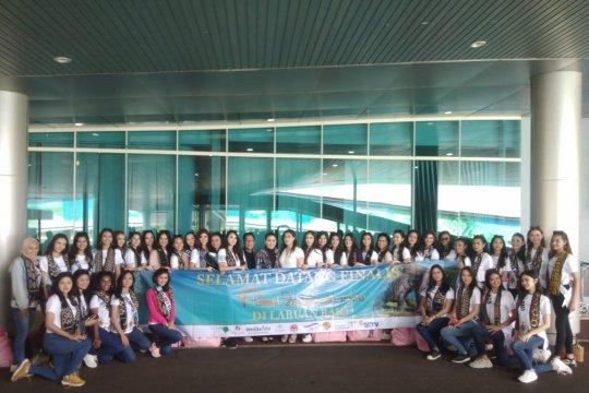 39 finalis Putri Indonesia tiba di Labuan Bajo