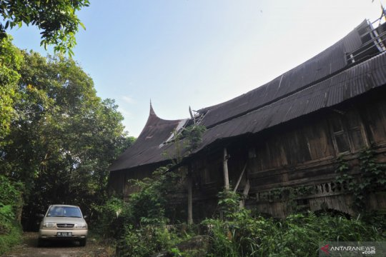 Belasan Rumah Gadang berumur seratusan tahun di Nagari Sumpu butuh revitalisasi