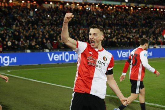 Robert Bozenik restorasi kemenangan Feyenoord atas Fortuna Sittard
