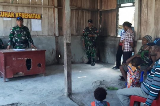 Warga perbatasan RI-PNG diajak TNI waspadai bahaya narkoba