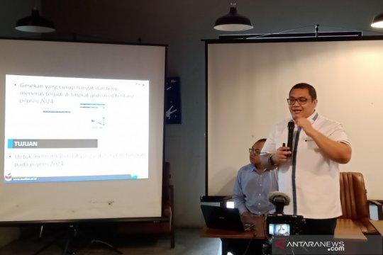 Median: Elektabilitas Prabowo tertinggi di pilpres, Anies membuntuti