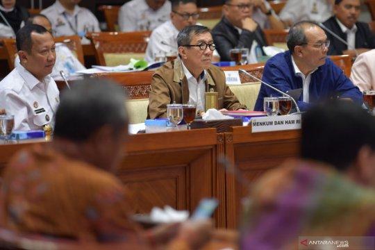Yasonna Laoly akui tidak ada rumah sakit di Lapas Nusakambangan
