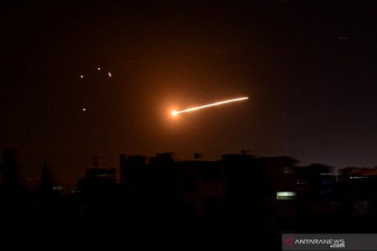 Suriah cegat rudal  Israel di atas pedalaman Quneitra