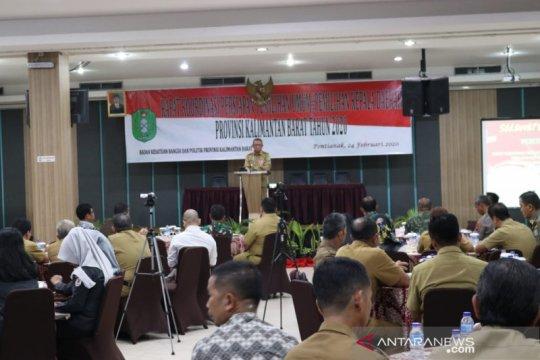 Gubernur Kalbar ingatkan KPU untuk transparan dalam pilkada serentak